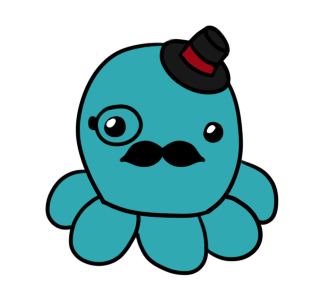 The Tophat Octopus by Marryx79