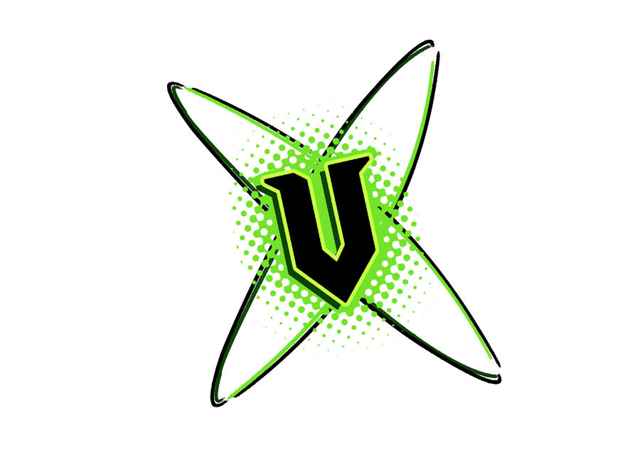 Energy Drink Log...V Energy Logo