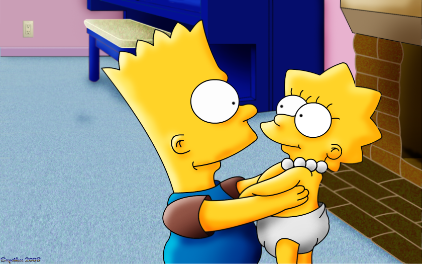 Bart n Baby Lisa by Fragsey