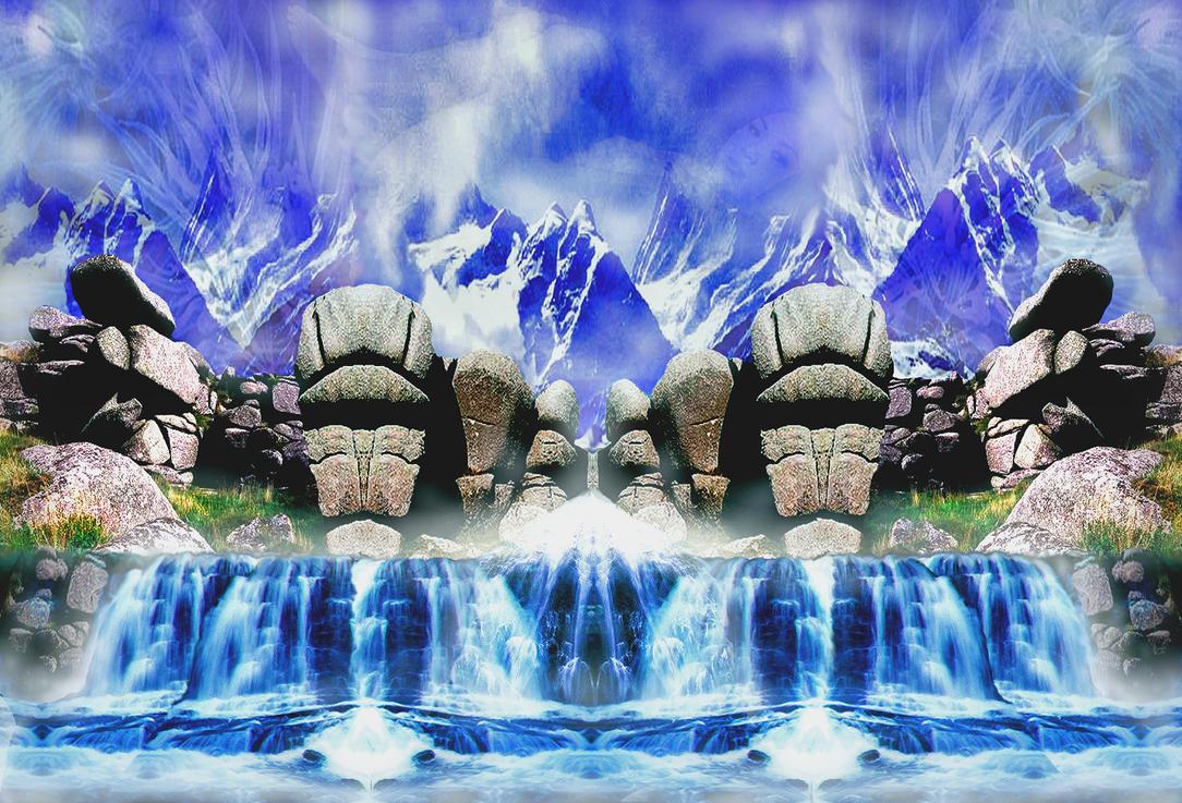 Skyrock Falls by Soundnautic