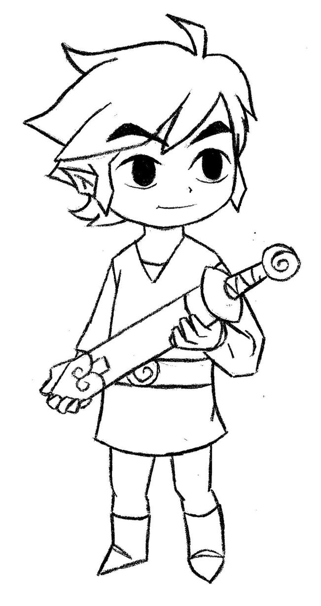 minish cap coloring pages - photo#1