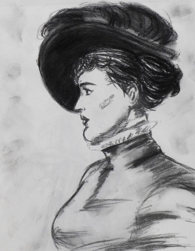 Portrait of a Woman by akatsukicloud227