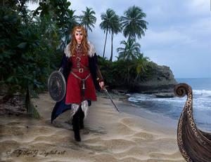 Princesa Vikinga - by CatyRuiz3