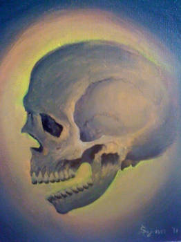just a skull