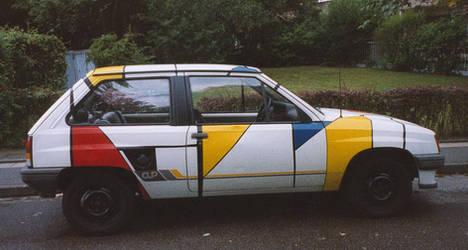 Painted Car II by Starjumper76