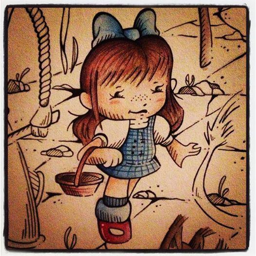 Dorothy by PinkBunnie