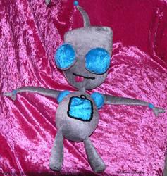 GIR Plush Invader Zim Handmade Custom OOAK by TorresDesigns