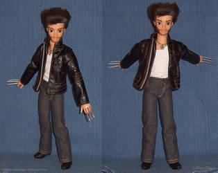 Hugh Jackman WOLVERINE X-Men Custom Doll Repaint by TorresDesigns