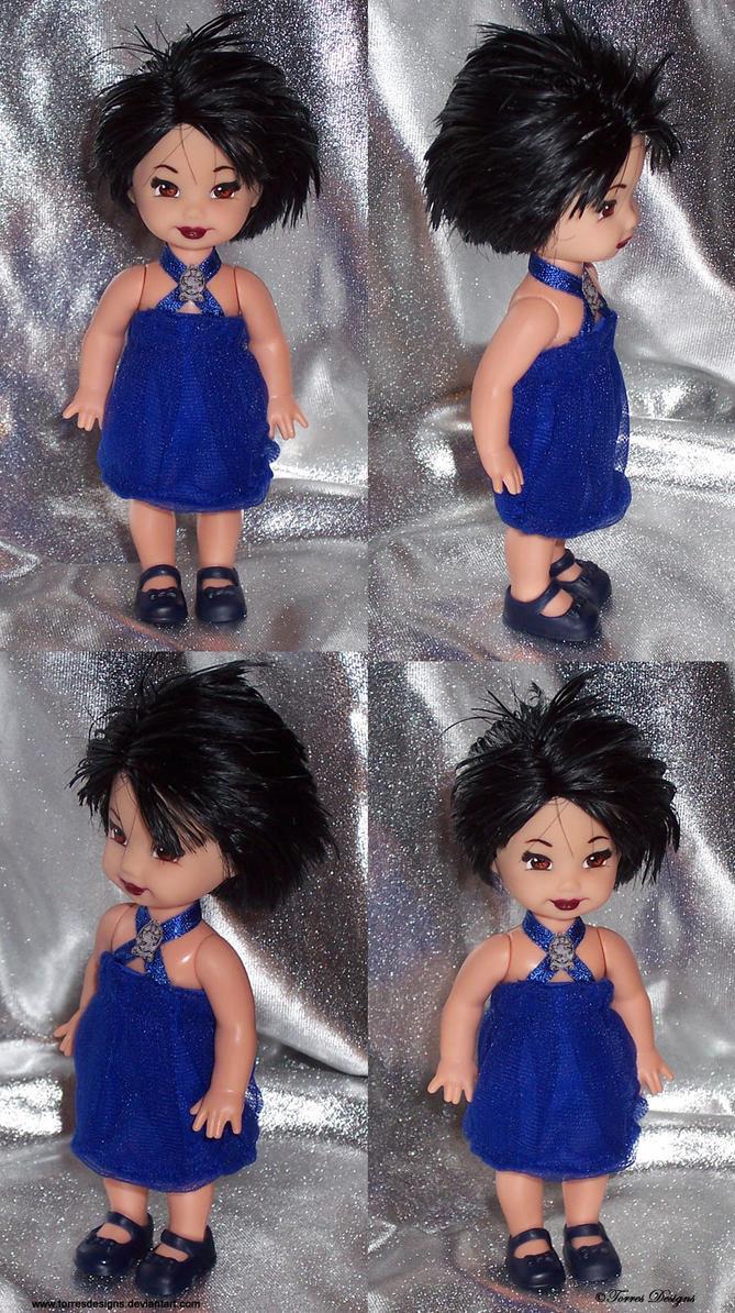 ALICE CULLEN Twilight Repaint Re-root OOAK Doll by TorresDesigns