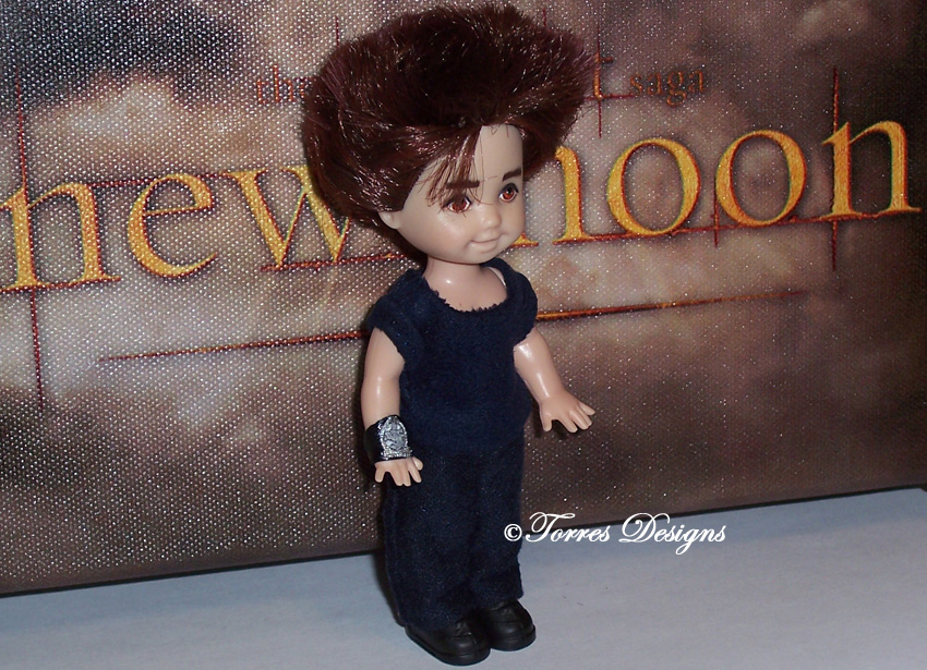 Edward Cullen Repaint Reroot OOAK Doll n Outfit by TorresDesigns