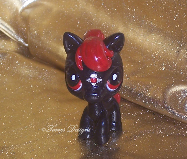 Littlest Pet Shop Pony as Ganondorf's Horse ZELDA by TorresDesigns