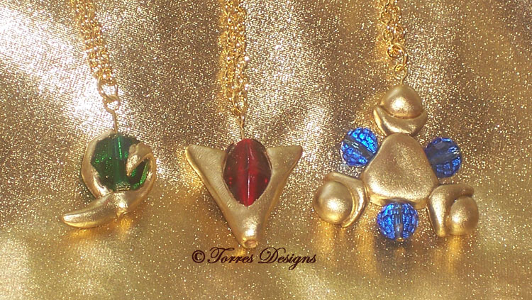 1st Spiritual Stones Necklaces Pendants Zelda OOAK by TorresDesigns