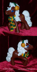 My Little Pony Ornament as Epona ZELDA Custom OOAK by TorresDesigns