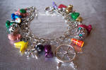 1st Wind Waker Charm Bracelet Zelda Handmade