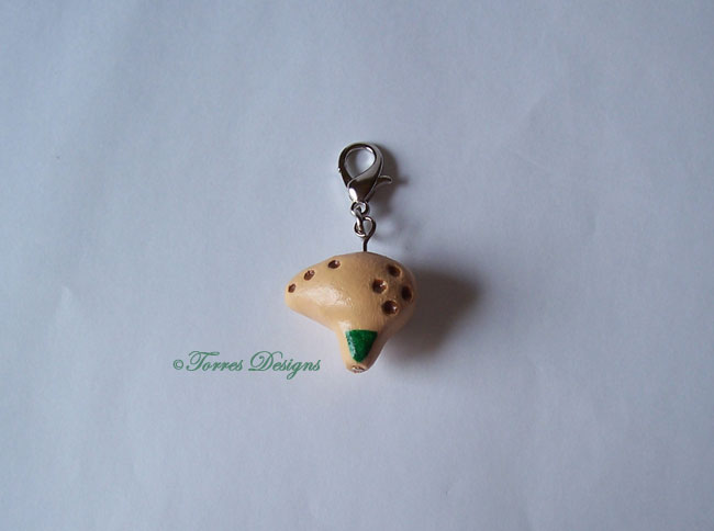 Fairy Ocarina Charm Legend of Zelda OOAK Custom #1 by TorresDesigns