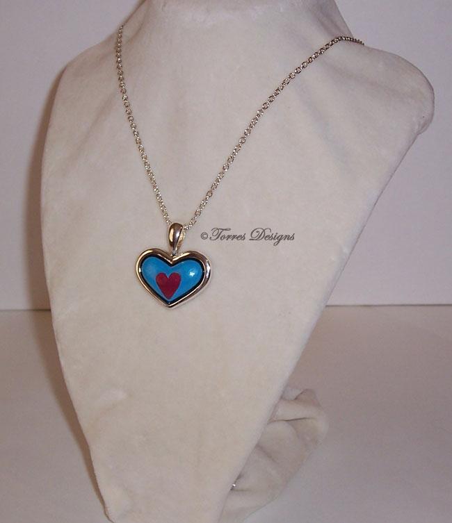 Heart Piece Container Necklace ZELDA Custom #12 by TorresDesigns