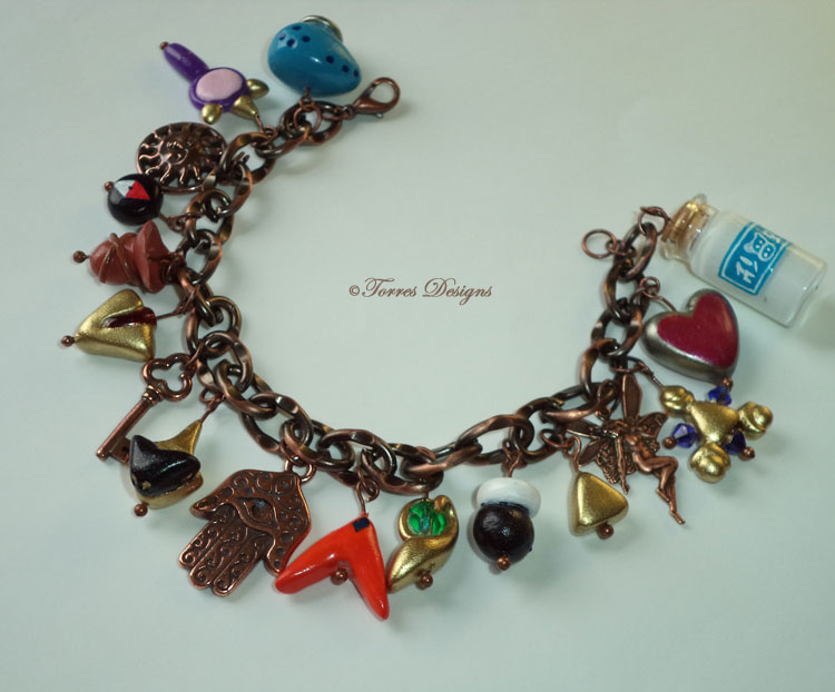 OoT Copper Bracelet Zelda Handmade Custom OOAK by TorresDesigns