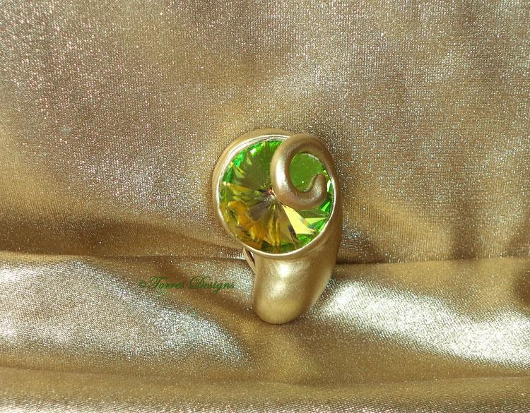 Kokiri Emerald Money Clip Zelda Handmade OOAK by TorresDesigns