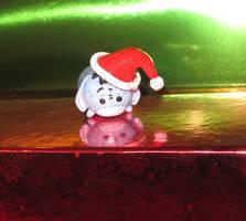 Tsum Tsum Eeyore Christmas Ornament Custom made by TorresDesigns