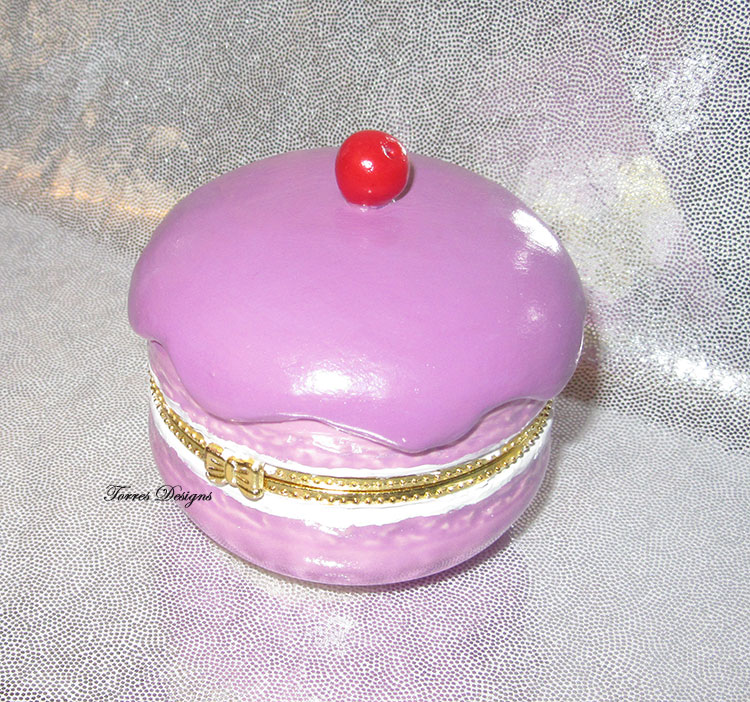 Pokemon Purple Berry Fancy PokePuff Trinket Box by TorresDesigns