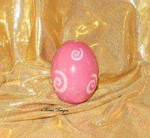 Ceramic Pokemon Igglybuff Egg Custom OOAK