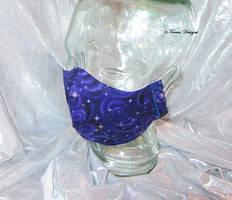 Face Mask Purple Galaxy Handmade Custom