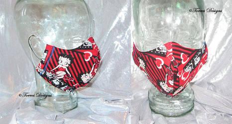 Face Mask Betty Boop Handmade Custom
