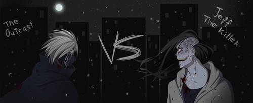 The Outcast vs Jeff the Killer by TaoAriya