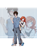 CreepyPasta OC: Sam and Lily by TaoAriya