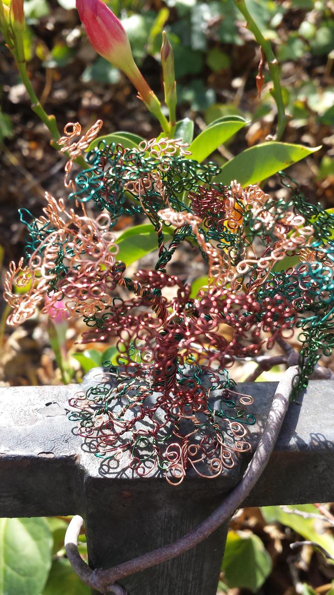 4 Wire Bonsai tree by FairyRound121