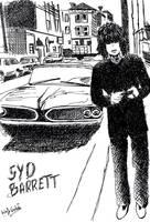 Syd Barrett by strangetofla
