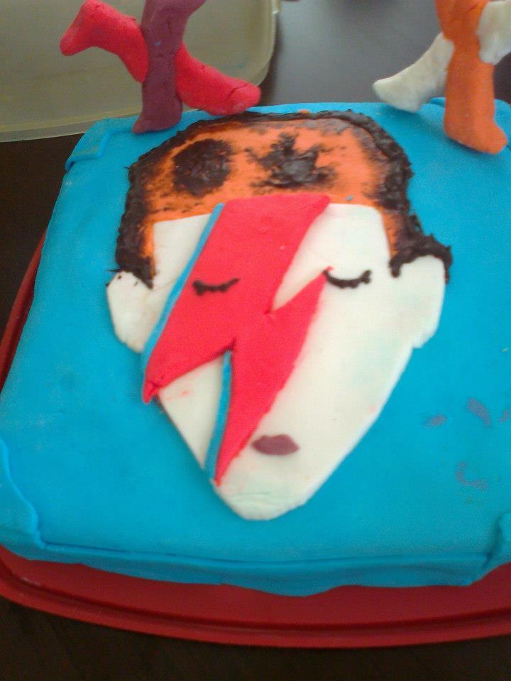 David Bowie cake by nicolasmandias on deviantART