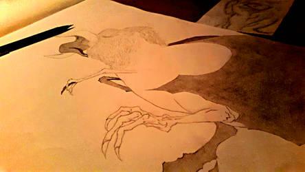 Birdthingie by Int00101rstellar