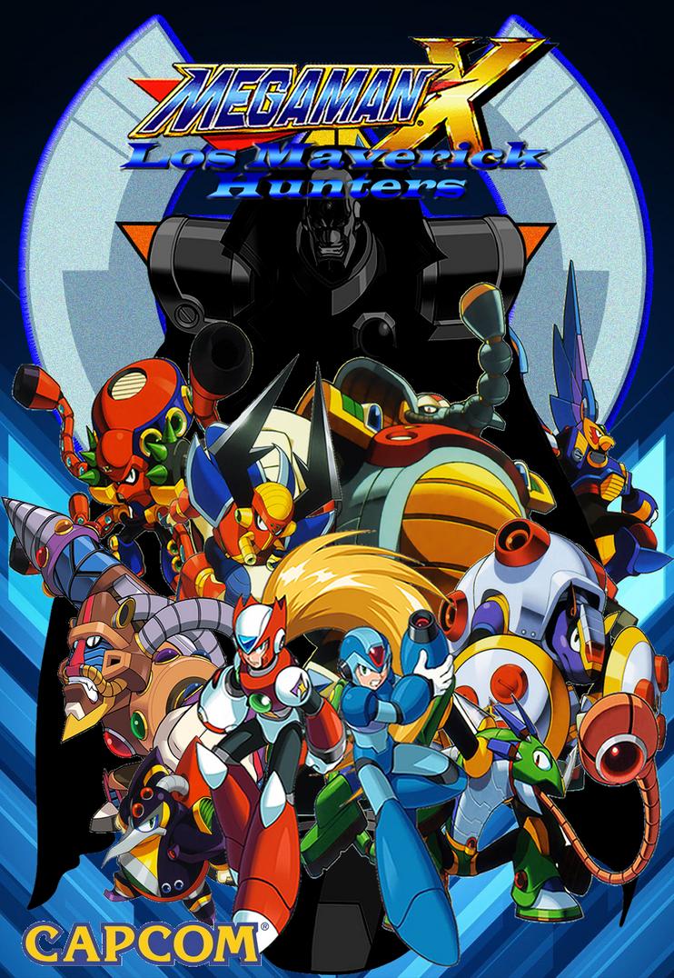 Megaman x the maverick hunters by bladezero25 on deviantart for Megaman 9 portada