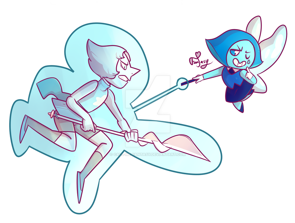 Aquamarine -Fight by Call-Me-Fantasy