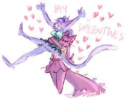 belated valentine by pumpkinuffin