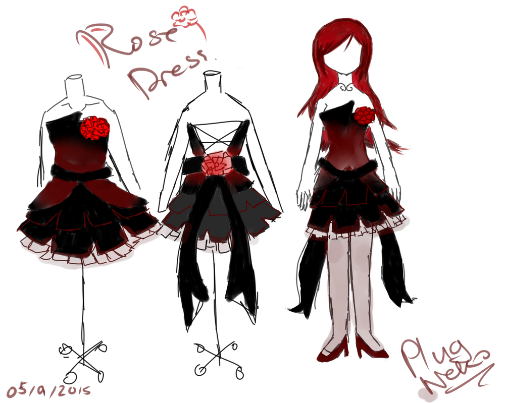 Valentine's Day Ball Rose_dress_thing_by_plugneko-d8sq1gw