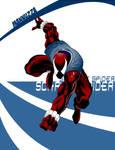 Mannuzza Scarlet Spider