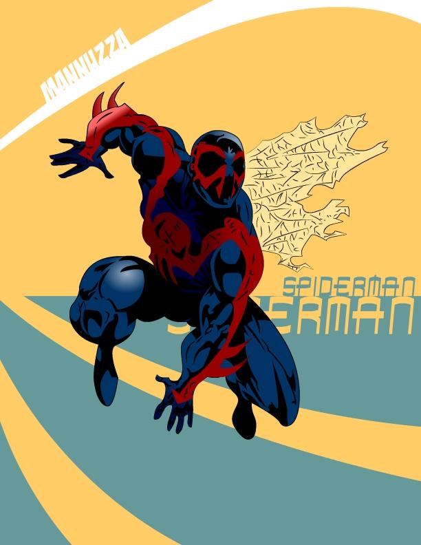 Mannuzza Spiderman 2099 by Mannuzza