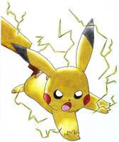 Pikachu use volt tackle by Togechu
