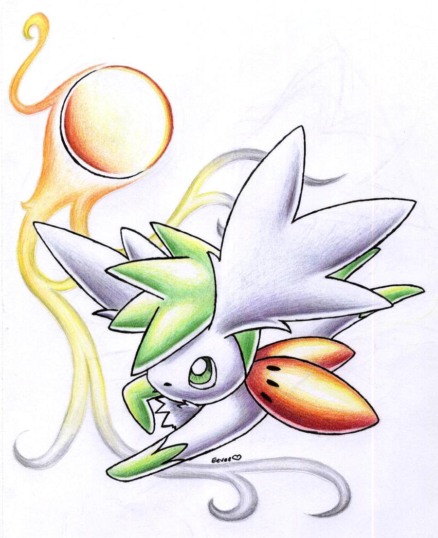 Shaymin Sky Form by Togechu