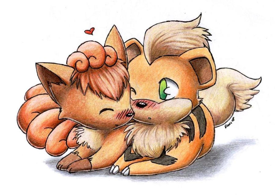 Pokemon Growlithe And ...