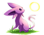 Espeon's Morning Sun by Togechu