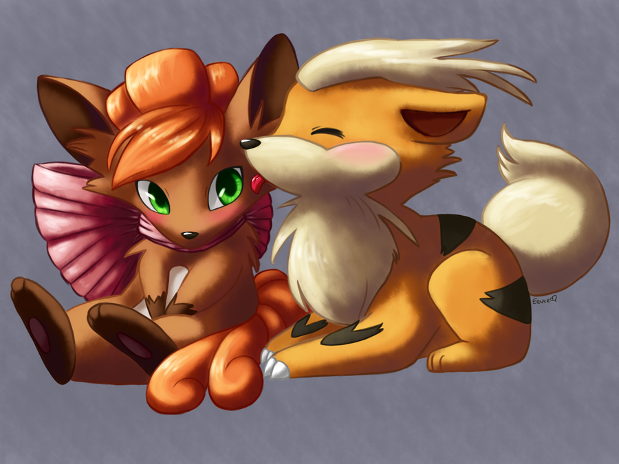 Vulpix and Growlithe--...