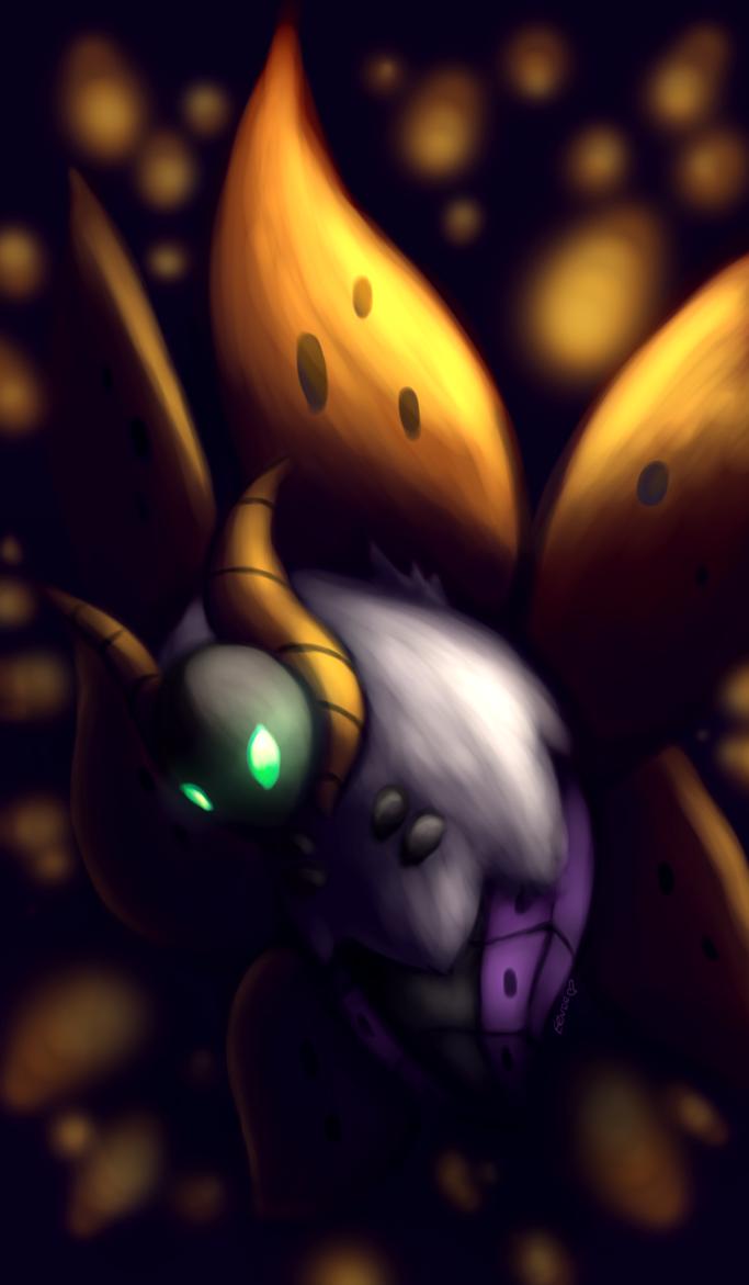 Shiny Volcarona by Togechu