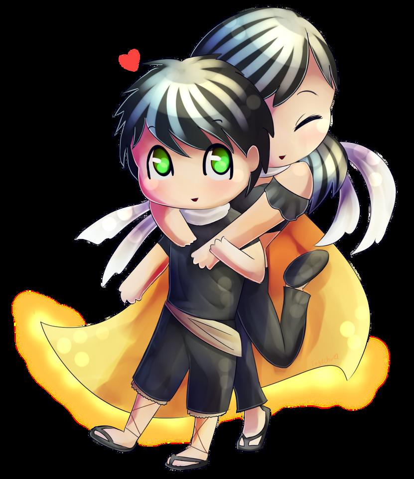 Chibi love by Togechu