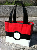 Poke'ball Duct Tape Tote Purse by AnglesAndDangles