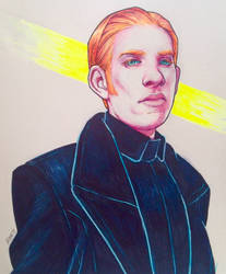 General Hux by horatiosroom