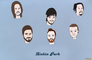 Linkin Park by vickymyo