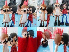 Mike and Chaz Dolls by vickymyo